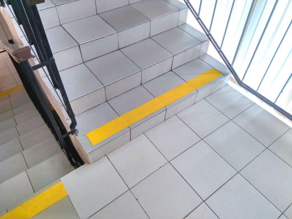 разметка лестниц