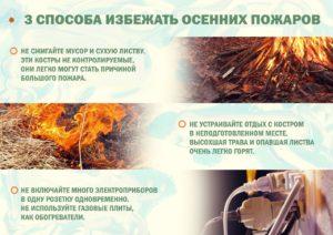 Осенние пожары